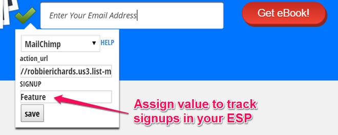 feature box sign up source