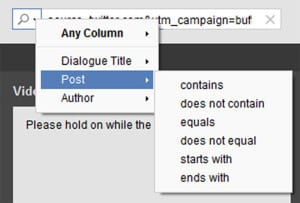 Filtering trending content for blog post promotion