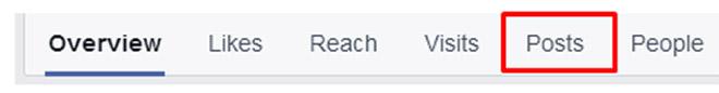 Popular posts on facebook