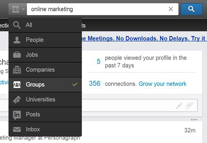 How to use linkedin groups to promote your blog posts