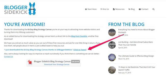 Blogger Sidekick copy