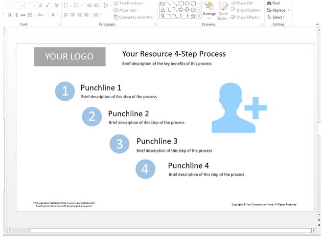Building a lead magnet in Powerpoint
