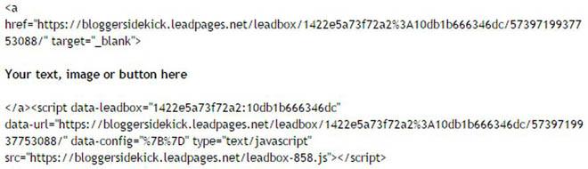 Code for LeadBox copy