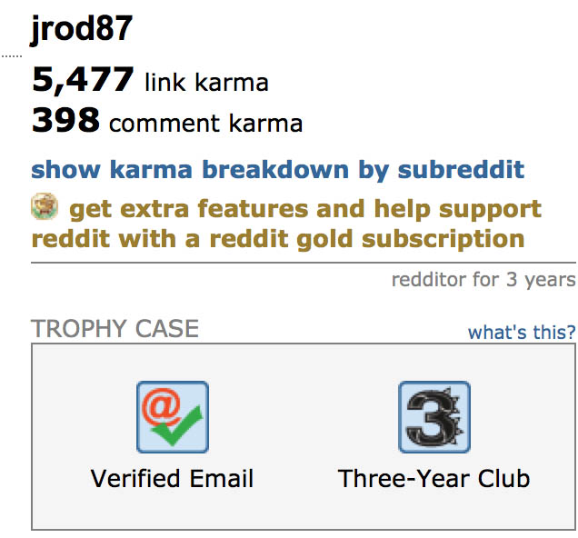 Reddit authority