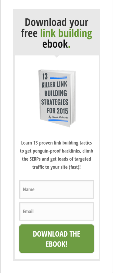 Thrive Leads widget