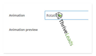 Thrive leads rotational animation