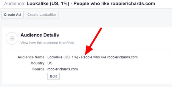 Building your email list with facebook lookalike audiences