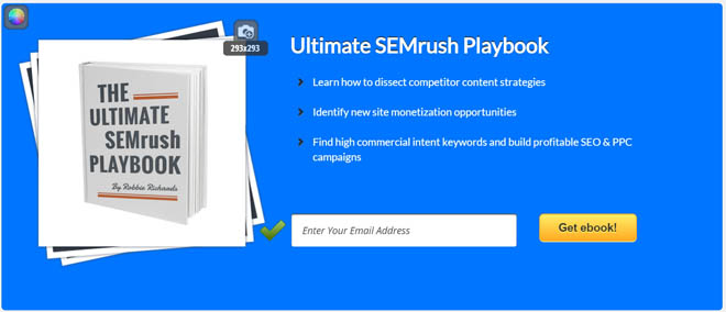 Semrush feature box