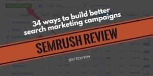 SEMrush review and tutorial