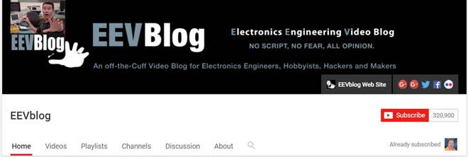 EEV Video blog