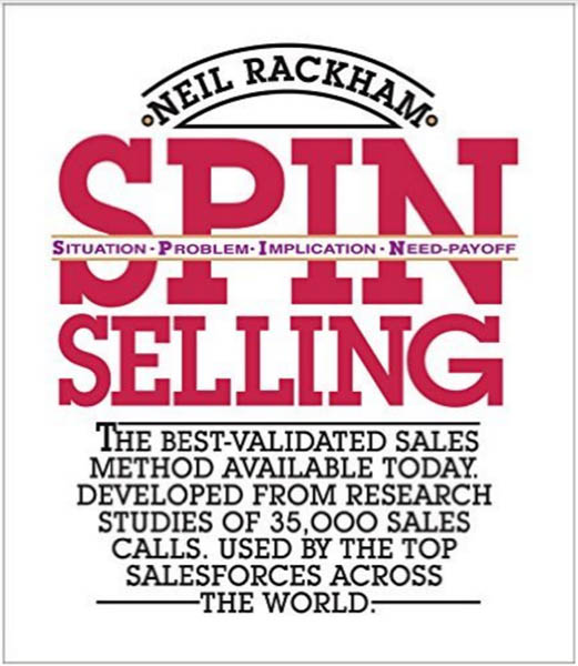 Spin Selling book for sales training