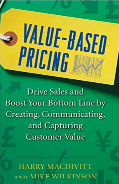 Value based pricing book