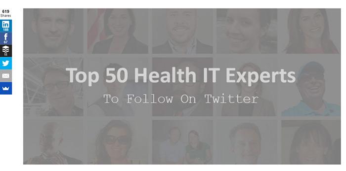 Health IT list post