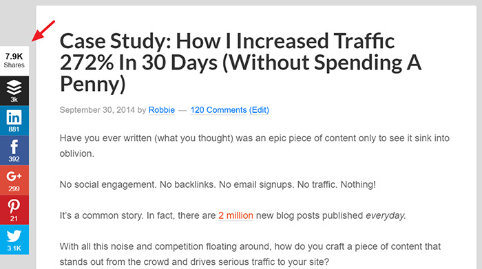 How to promote your blog posts to get thousands of social media shares