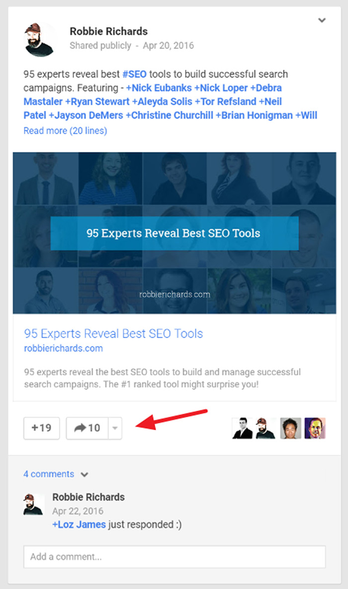 How to format your blog post to get more social media share -  17 Amplify With Influencer Outreach