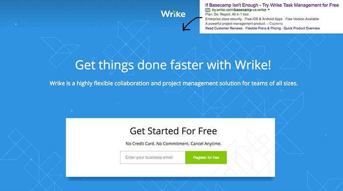 Basecamp vs Wrike