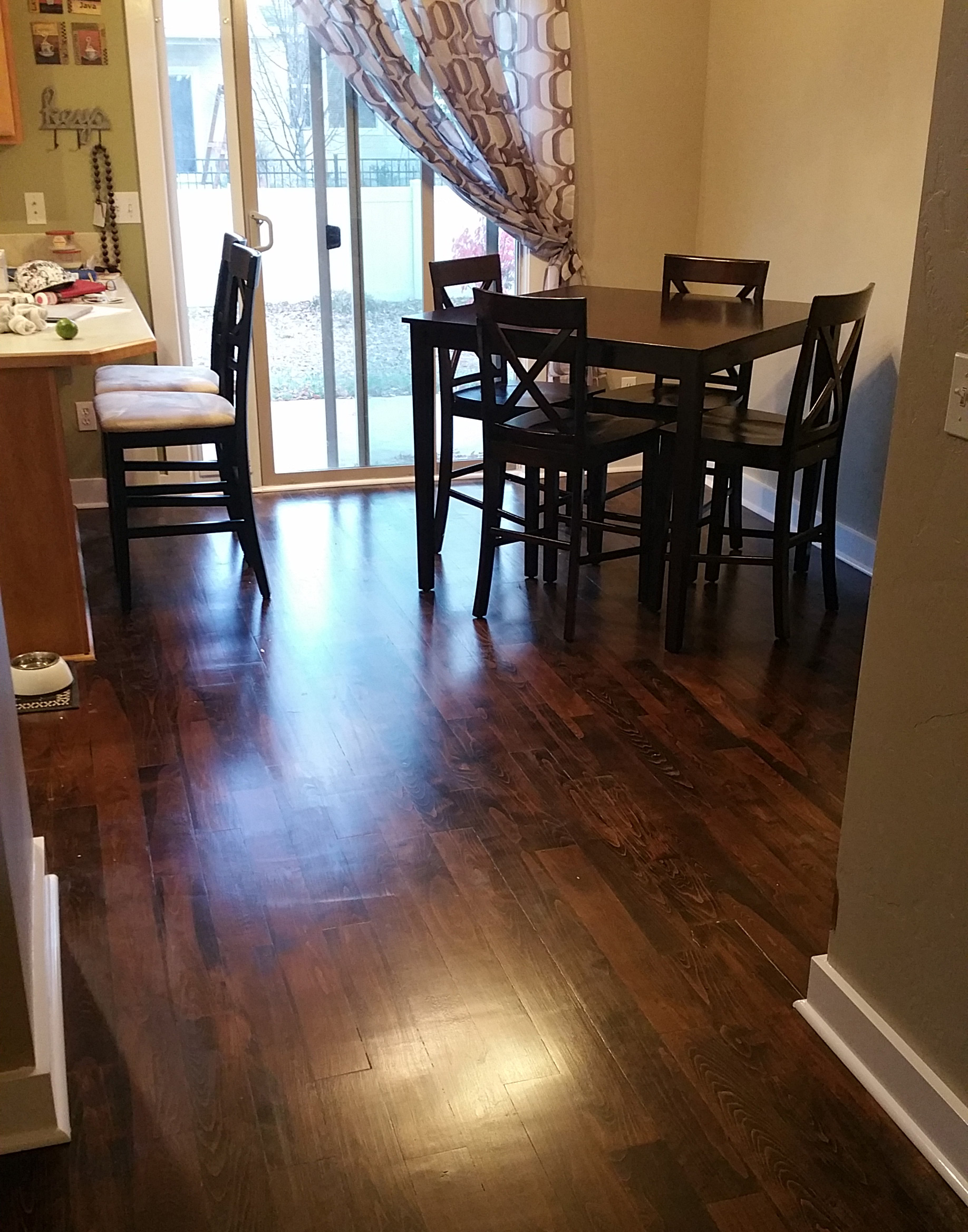 Picture of finished hardwood floors