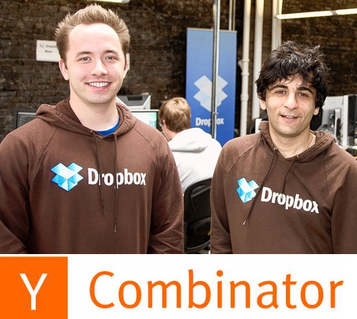 Dropbox founders - early days