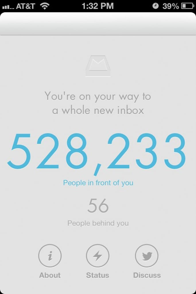 Mailbox waiting list