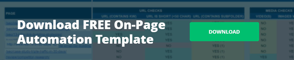 Click to download free on-page SEO automation template