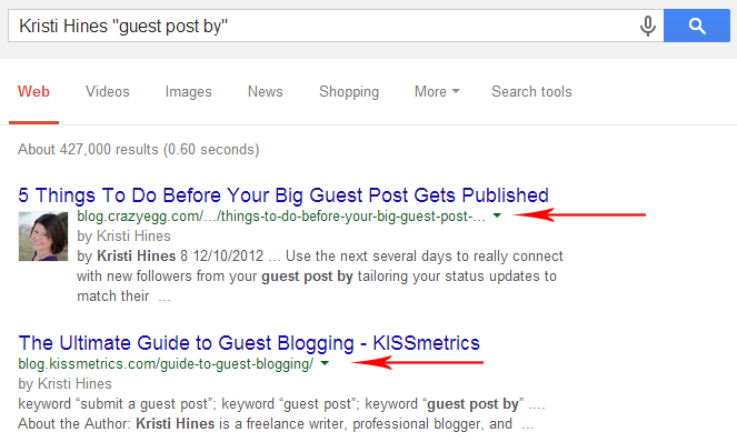 Finding guest post placements for industry influencers with search operators