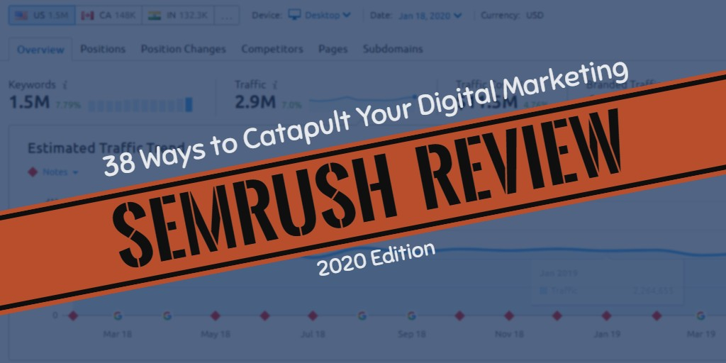 Best Deal On Semrush  Seo Software April 2020