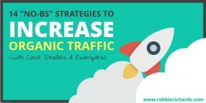 How to increase organic traffic