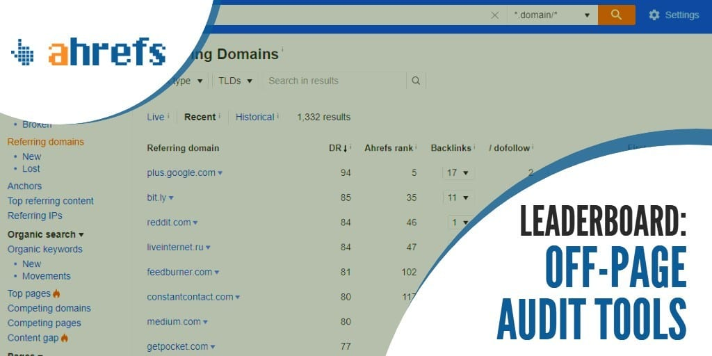 Off-Page SEO Audit Tools Feature Image