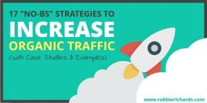How to Increase Organic SEO Traffic
