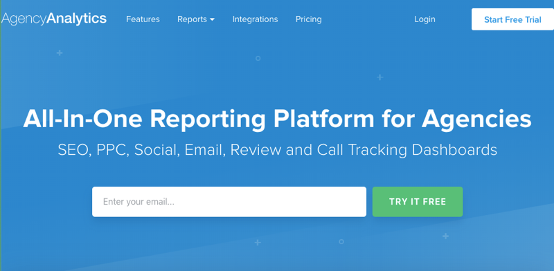 All-In-One Reporting Tool for Agencies