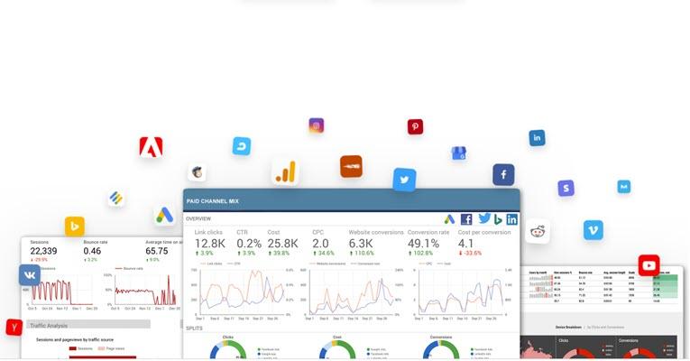 Supermetrics SEO reporting tool