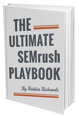 SEMrush Playbook Cover