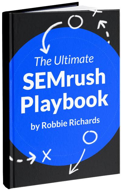 New SEMrush Playbook cover